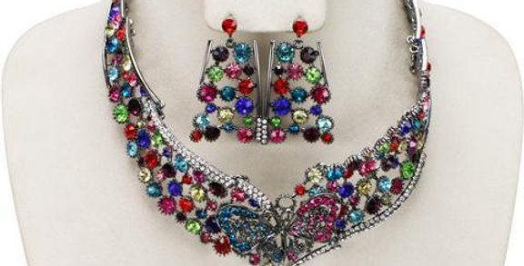 Jewerly Set-J217 - Multi/Color
