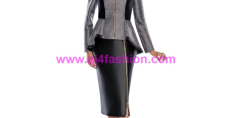 274964 - 2 Pcs Suit - Black Ivory
