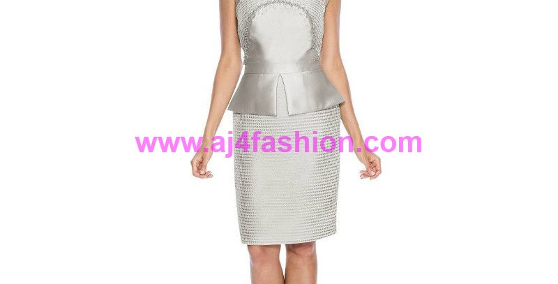 385244 - 1Pc. Dress for Special Occasion - Silver