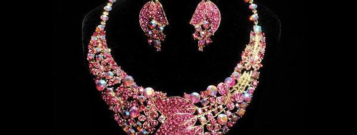 Jewerly Set-J144 - Pink