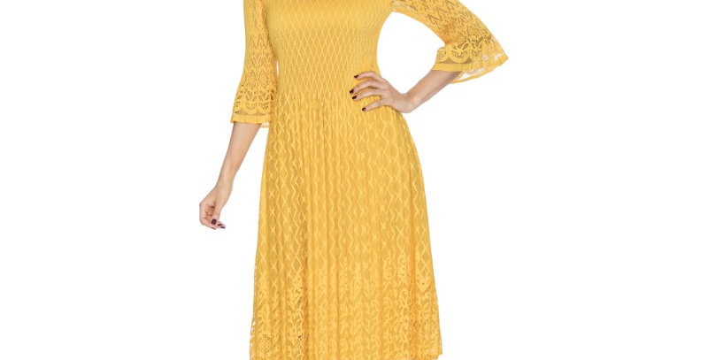 276464 - Dress - Yellow (Very light -summer season)