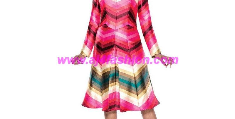 136964 - Dress - Multi-Color