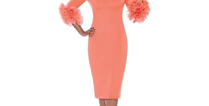 278564 - Dress - Peach
