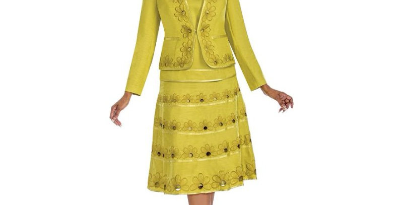276714 - 3Pcs Suit - Citron