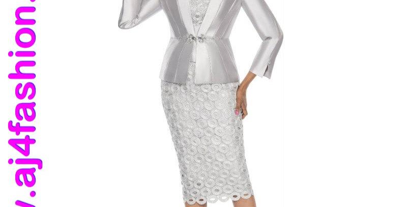 137934 - 3 Pcs Suit - Silver