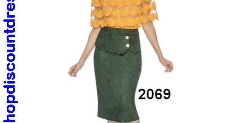 510924 - Top -Mustard