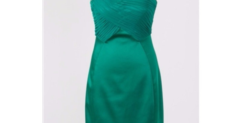 AJ4F217-Jax Ruched Chain Strap Dress