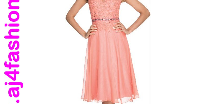 385474 - Dress for special occasion- Apricot