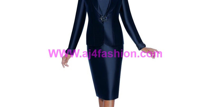 274394 -2 Pcs Suit - Navy Blue