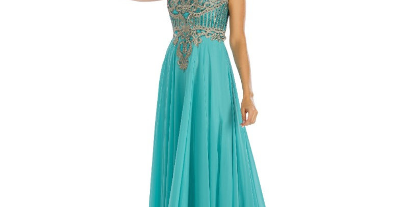 386344 - Dress for special occasion - Aqua