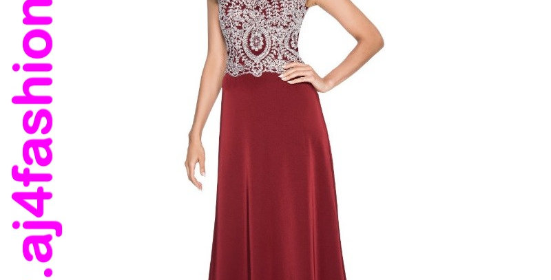 Annabelle 385564 -Wine- Evening Dress