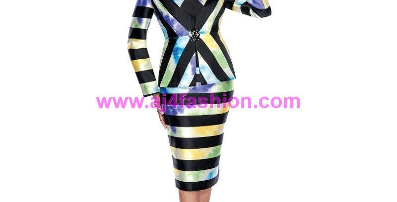 136464 -3 Pcs Suit - Multi-Color