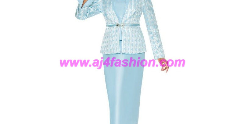 275224 - 2 Pcs Suit - Baby Blue