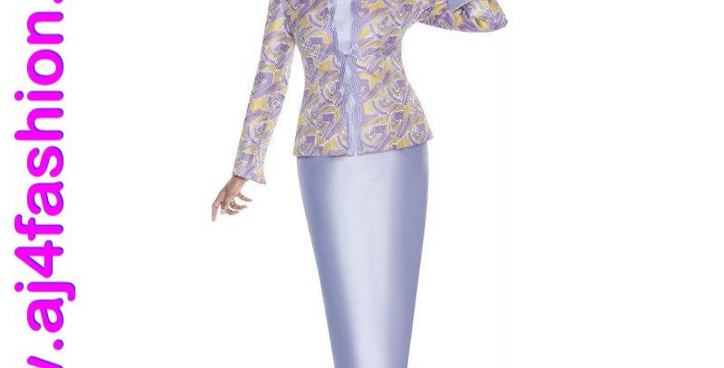 276054 -2 Pcs Suit -Lilac Multi