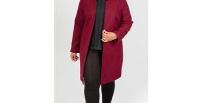 Moda Mix Jacket-Burgandy