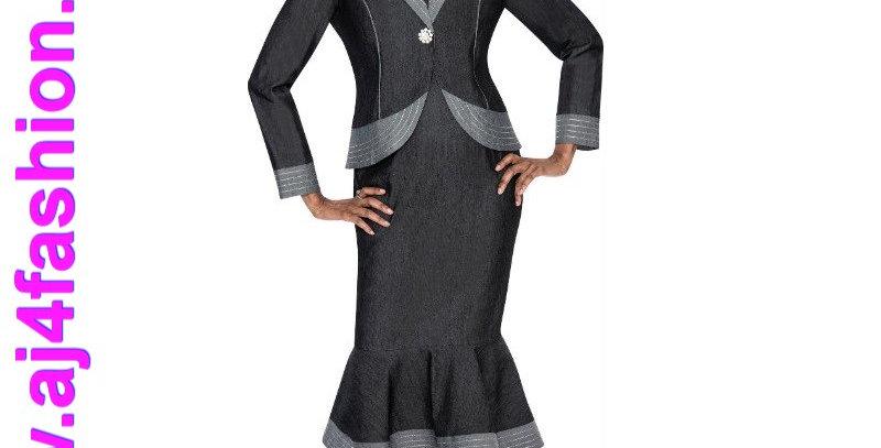 275734 - 2 Pcs Dress Jacket - Denim