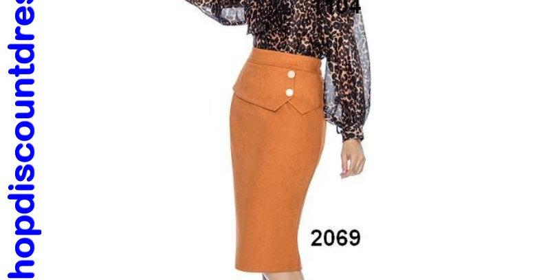 520694 - Skirt (fall season) - Mustard
