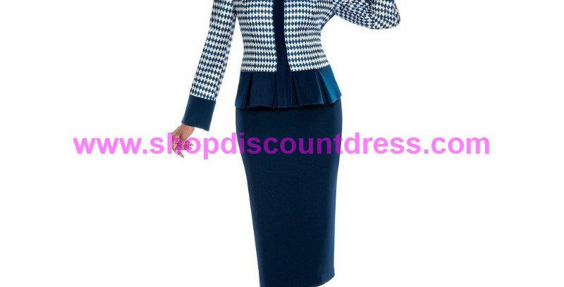 274914 -  2 Pcs Suit -Navy Blue