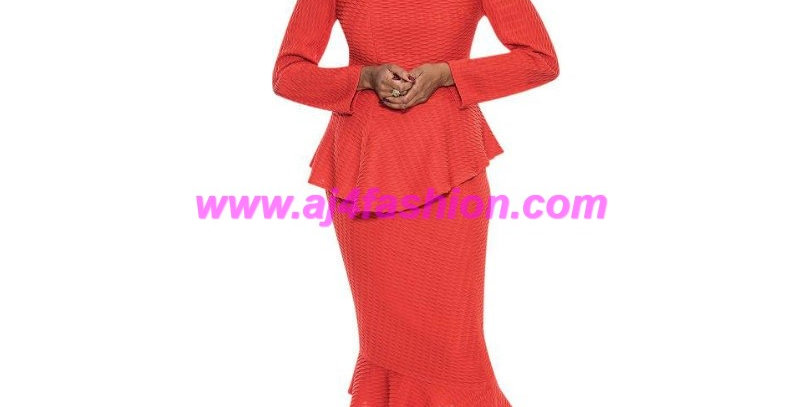 275344 - 2 Pcs Suit - Orange