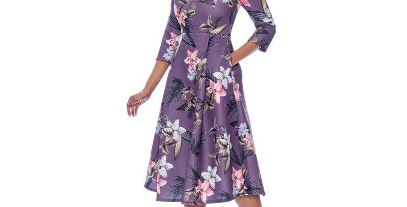 278544 - Dress - Lavender Multi
