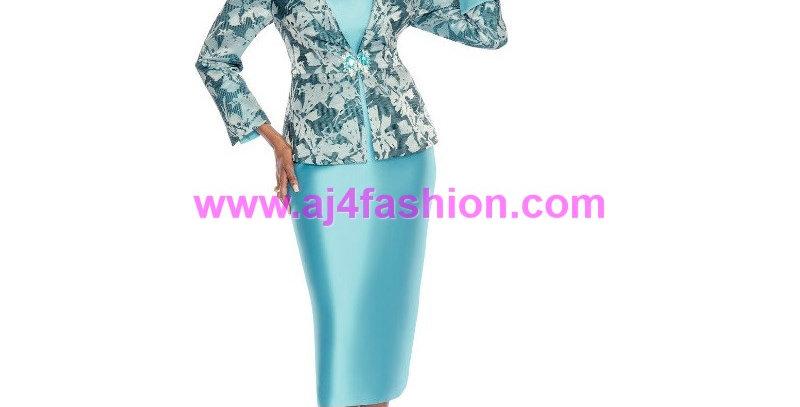 274874 - 2Pcs Suit -Turquoise