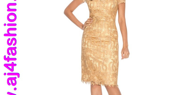 385724 - Dress for Special Occasion-Gold
