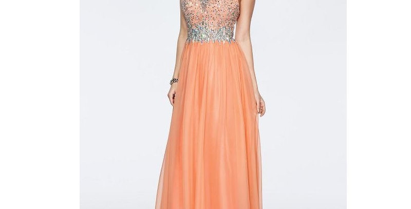 411444 - Dress for special occasion - Orange