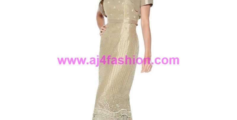 384834 -Special Occasion Dress - Taupe
