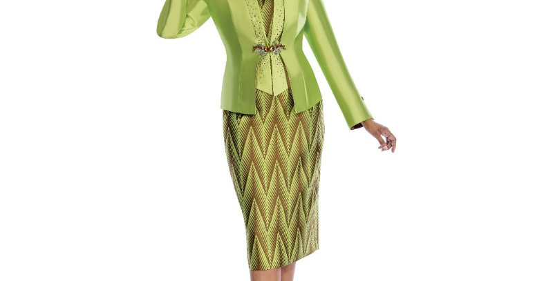 138344  - 3 Pcs Set Suit - Lime