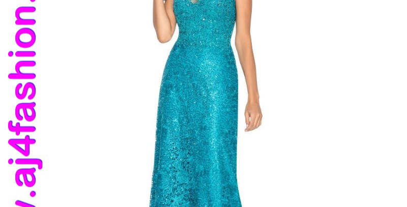 385834 - Dress for special occasion - Teal