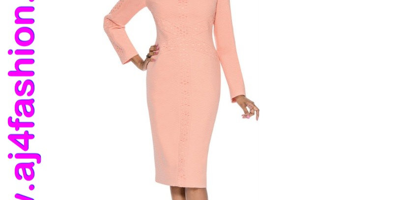 275914 - 1 Pc Dress - Apricot