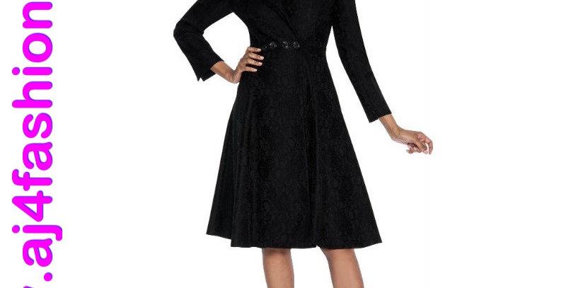 137624 - 1 Piece dress - Black