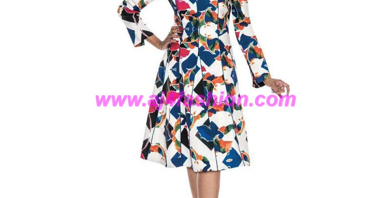 137004 - Dress - Multi-Color