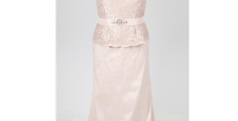 Ignite Lace Taffeta-AJ4F221-Evening Dress