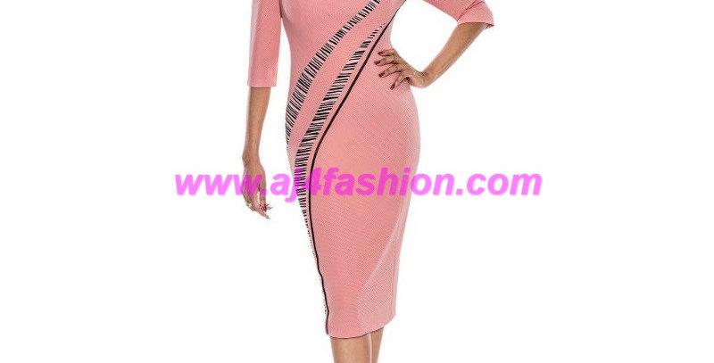 275384 - 1 Piece Dress - Salmon