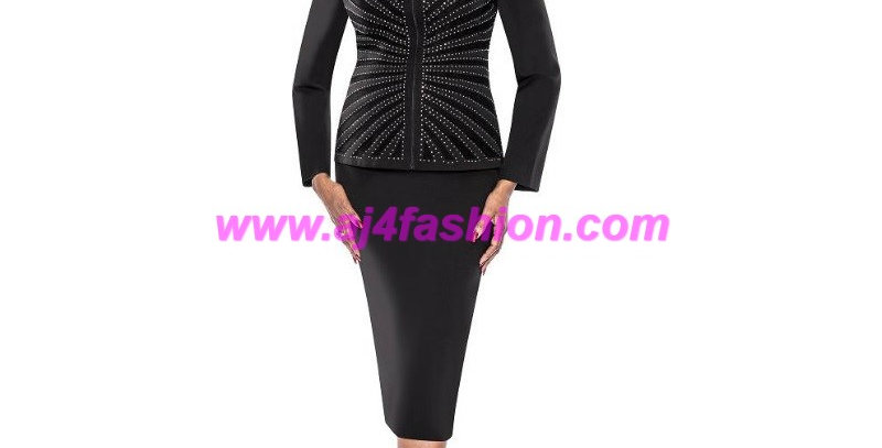 136974 - 2Pcs Suit - Black
