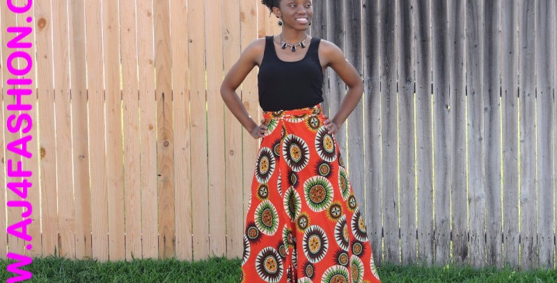 African Skirt Wrap-AJ4F213-6006