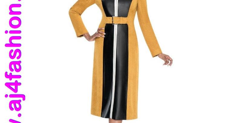 137364 - 1 Piece Dress - Gold/Black