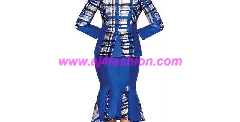 275074 - 2 Pcs Suit - Royal