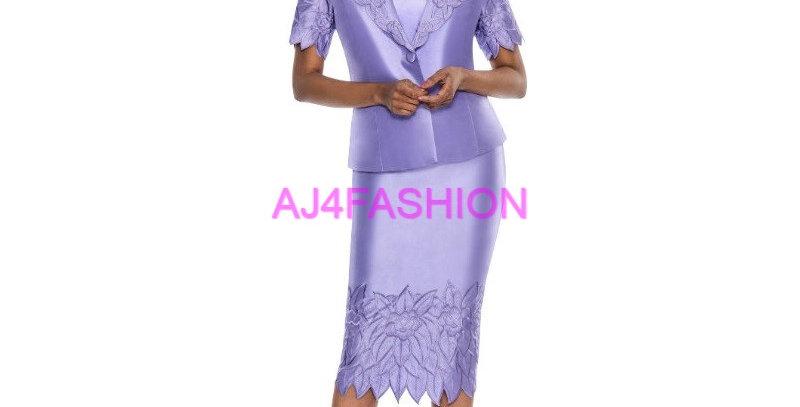 275424 - 2 Pcs Suit - Lilac (light summer suit)