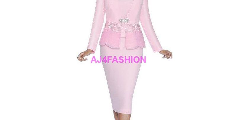 135984 - 3 Pcs Suit - Pink
