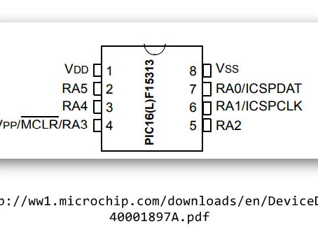 PIC 16LF15313 With Flowcode.