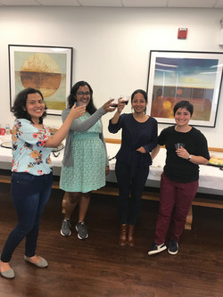 Cheers to our new lab!