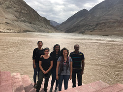 GenSCAPE lab by the confluence of Indus and Zanskar Rivers in Ladakh