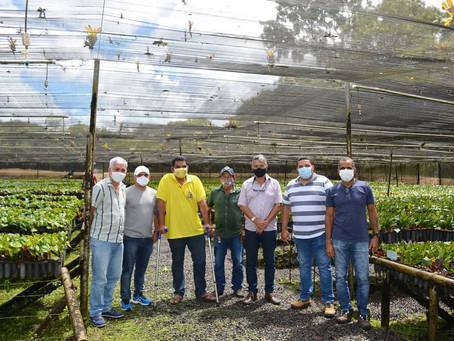 Representantes do Consórcio Intermunicipal da Mata Atlântica (CIMA) visitaram a Biofábrica da Bahia