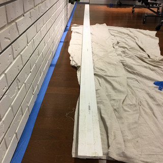 Base Board installation and paint