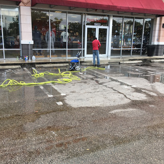 Commerical Power Washing