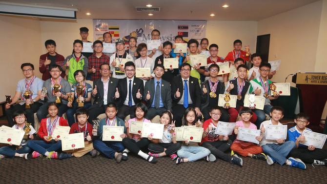 马来西亚第二届记忆锦标赛,总数十个项目,九个项目记录被打破!