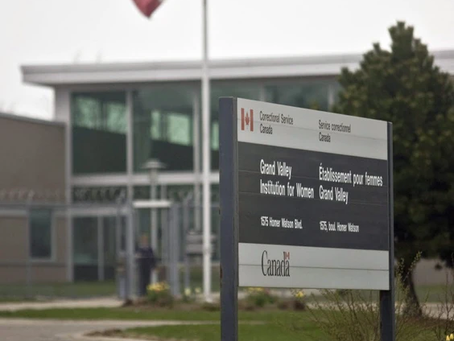 Activists protesting trans inmates at Kitchener prison for women