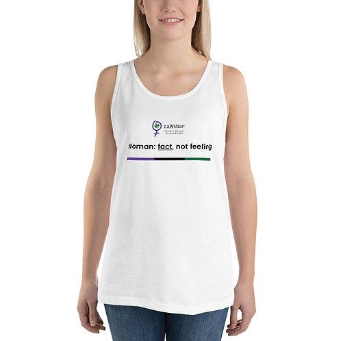 caWsbar Slogan Ladies Tank Top